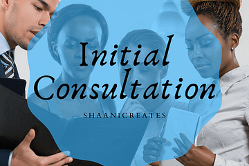 ShaaniCreates Initial Consultation