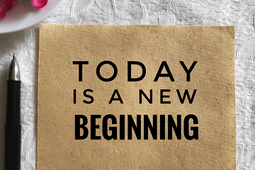 ShaaniCreates · Today is a New Beginning