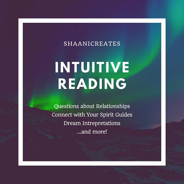 ShaaniCreates Intuitive Reading