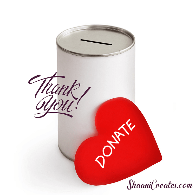 ShaaniCreates Donations