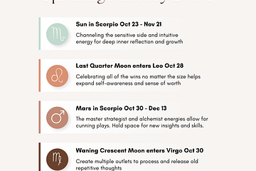 ShaaniCreates Healing Through Visions Upcoming Planetary Events October 2021