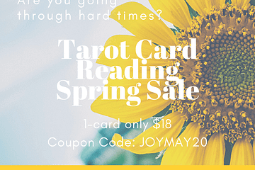 ShaaniCreates Tarot Card Reading Spring Sale May 2020
